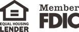 Equal Housing Lender - Member FDIC